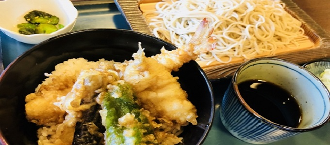 tendon and soba