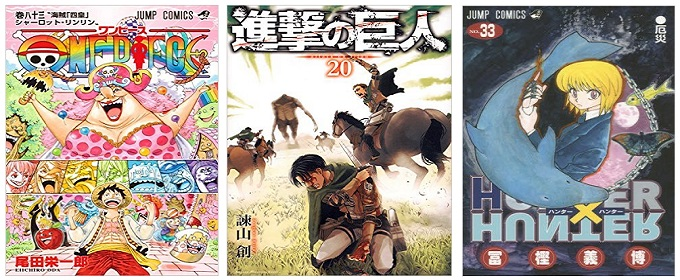 comic ranking top three